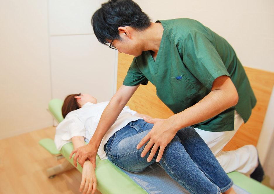 豊田市の夏目接骨院の痛みと負担のない施術方法