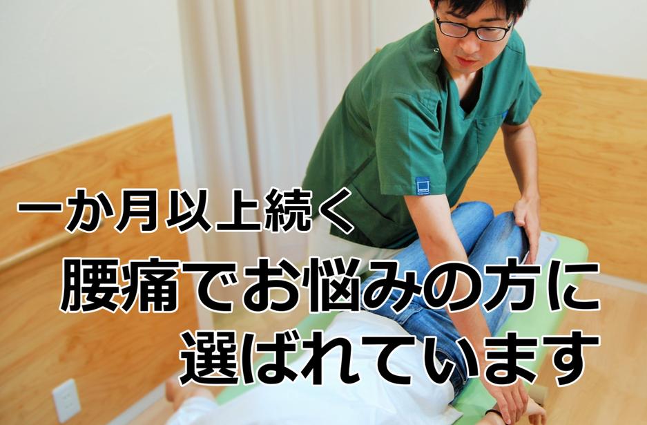 豊田市の腰痛に強い夏目接骨院