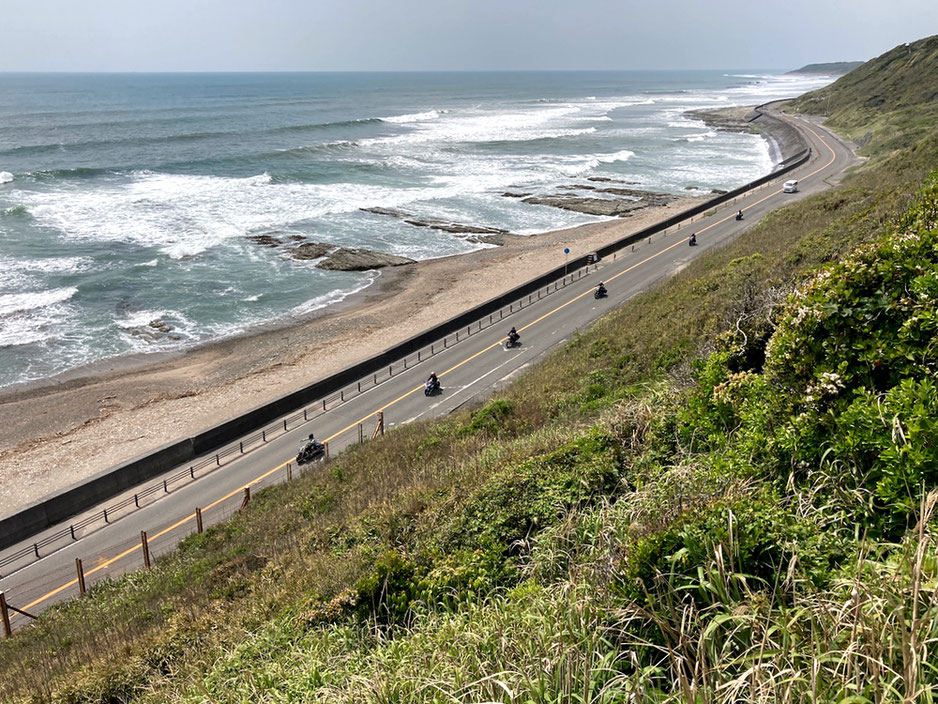 空と海と御前崎サンロード・・・距離は短いけれど、ここはバイクで走ってみたい