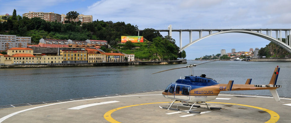 Helicopter Tour Porto © European Consumers Choice