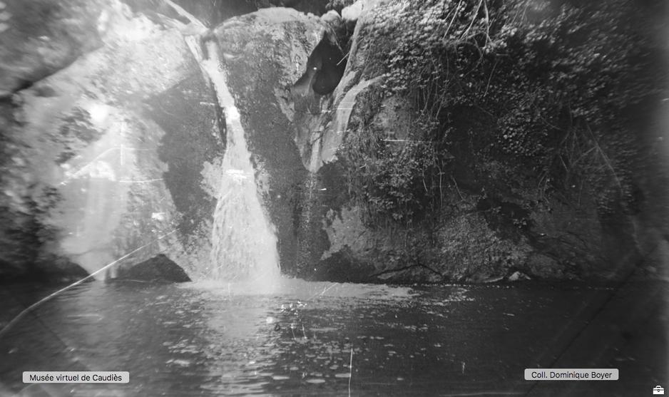 Saut de la Boulzane au début du XXe siècle