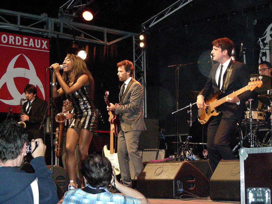The Excitements. Photo Gilbert Béreau. 2015.