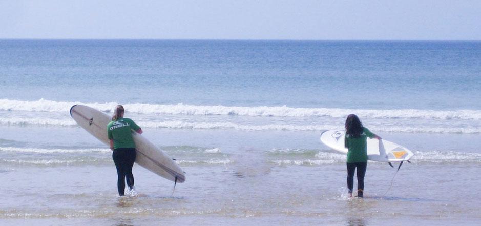 Surfspot St.Girons Plage Frankreich