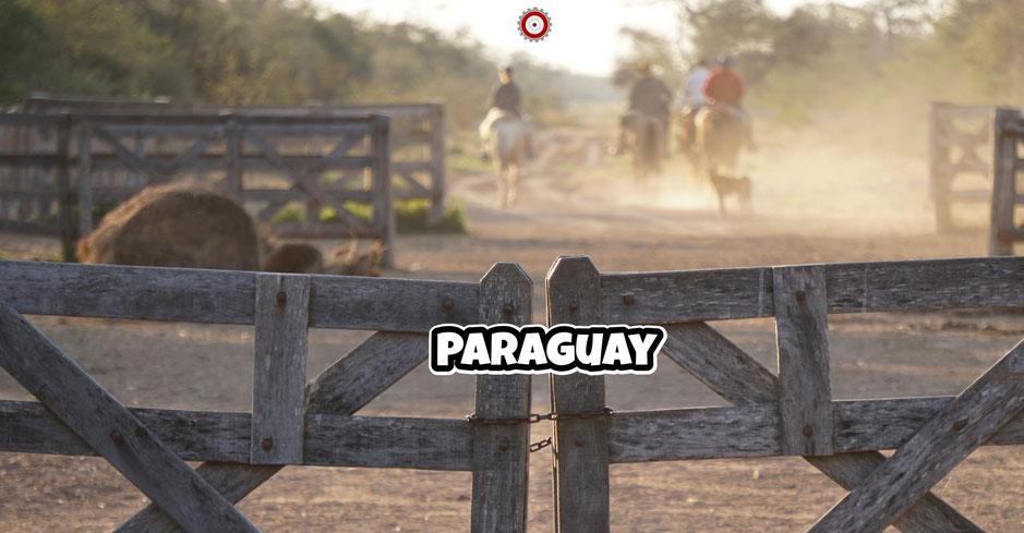 Paraguay - Asuncion - Chaco - HondaCRF250L