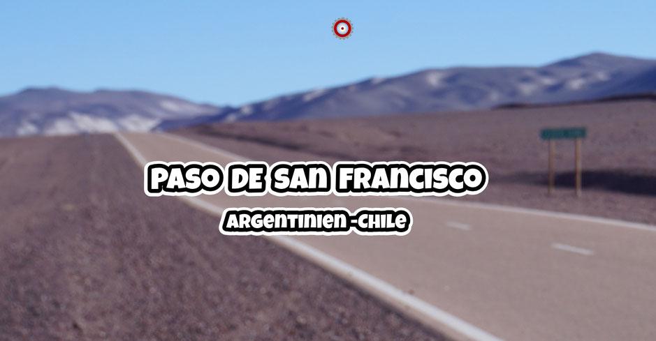 Paso de San Francisco - Argentinien - Chile