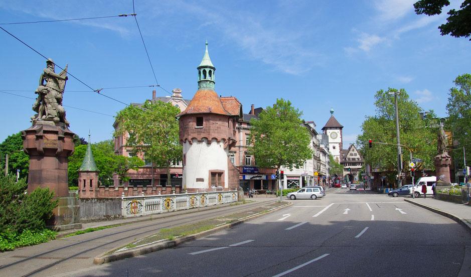 Schwabentorbrücke heute. Bild: Wikipedia, Fotograf: joergens