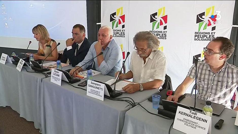 Les 24e universités d'été de Régions Peuples et Solidaires se tiennent à Ajaccio jusqu'au dimanche 25 août. / © Marc-Antoine Renucci / FTVIASTELLA