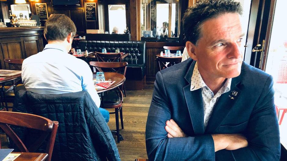 Paul Molac, député du Morbihan, fait sa rentrée politique. Il va se replonger dans ses dossiers : santé, écologie et la place des élus locaux avant les municipales 2020. | OUEST-FRANCE