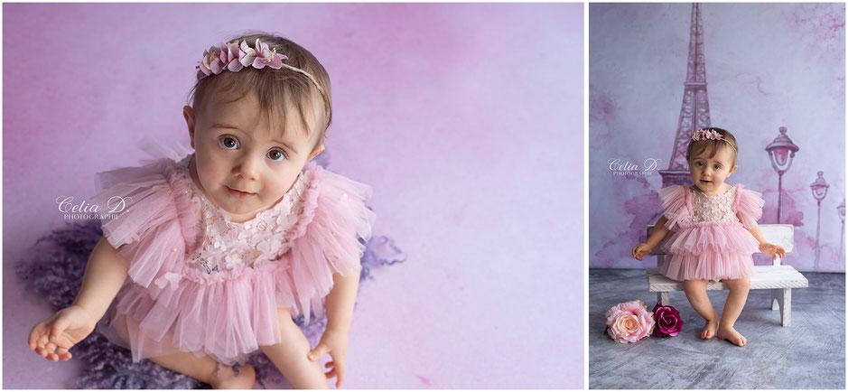 Shooting photo bébé enfant famille beaune dijon dole
