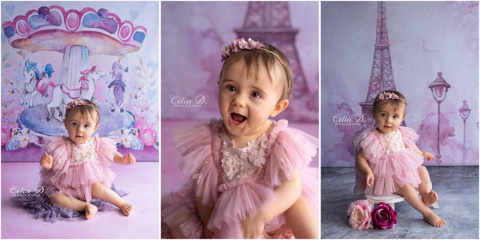 Photographe Enfant famille bébé Beaune Dijon Dole