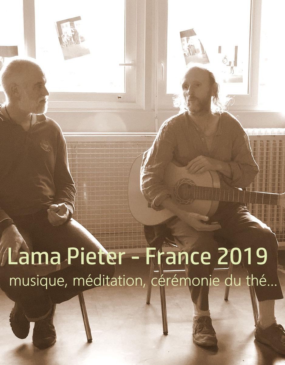 Vénérable Lama Pieter - France 2019