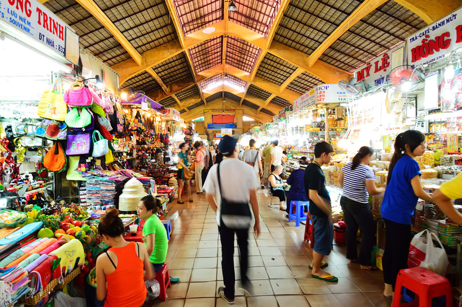 markets in ho chi minh