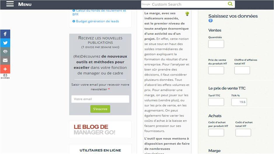 La Marge Commerciale Site De Jean Marc Pescia Formateur