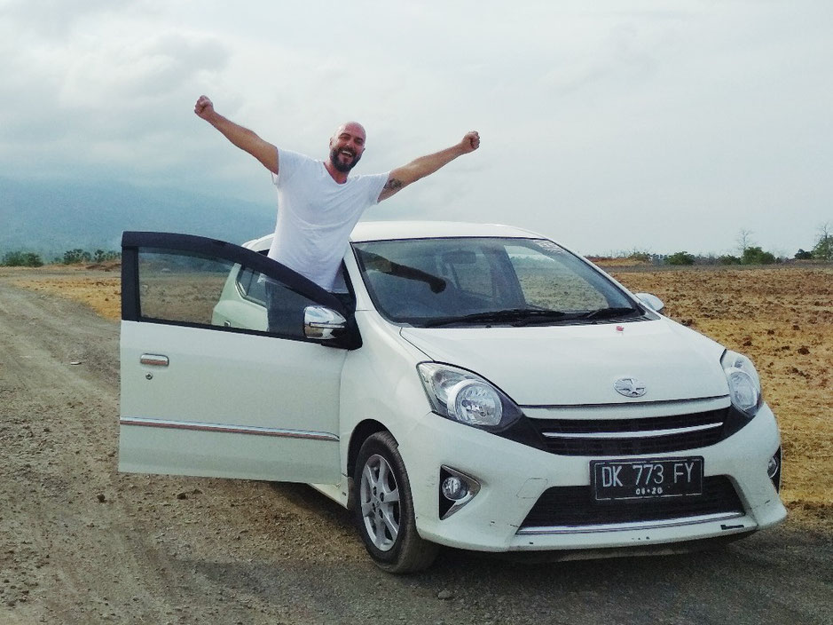 Noleggio auto a Bali