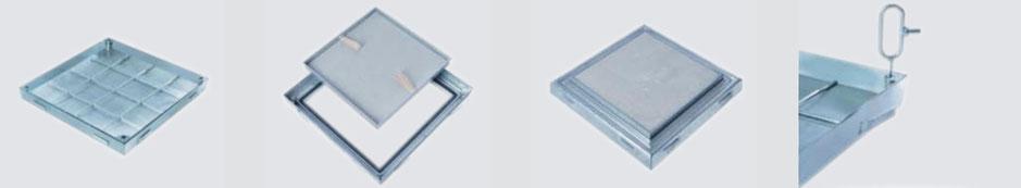 Heika-Ground System PRO+ Brandschutz Stahl feuerverzinkt