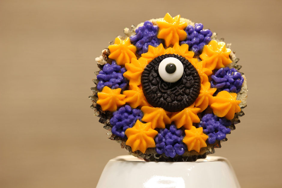 Stern Monster Cupcake