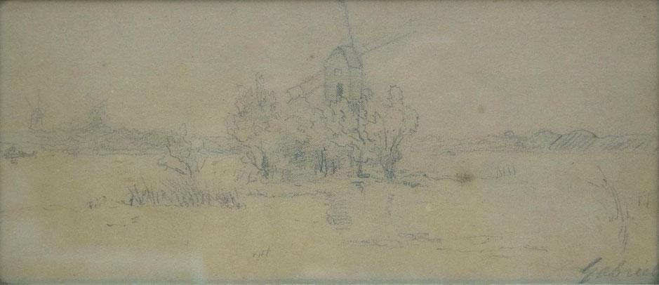 te_koop_aangeboden_een_krijttekening_van_de_nederlandse_kunstschilder_paul_gabriel_1828-1903_haagse_school