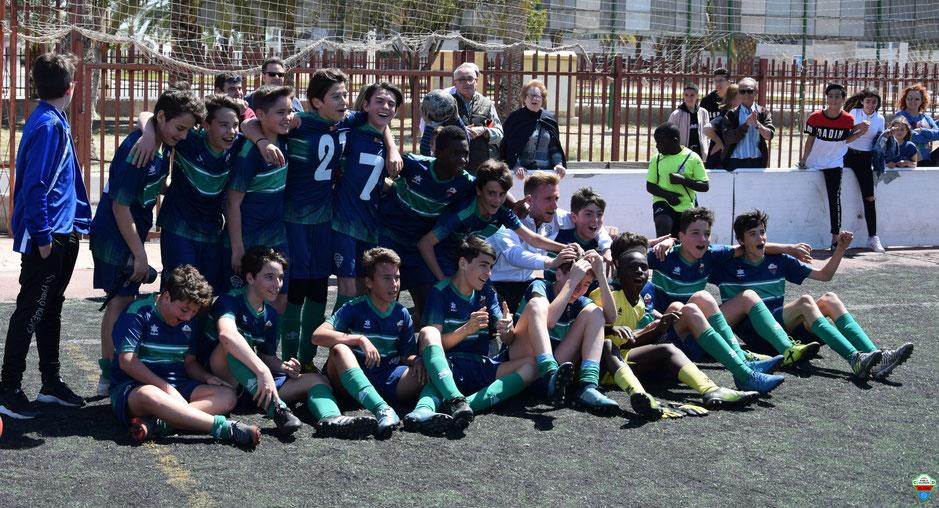 El Club Deportivo Pablo Iglesias Se Proclama Campeon De La Liga Del