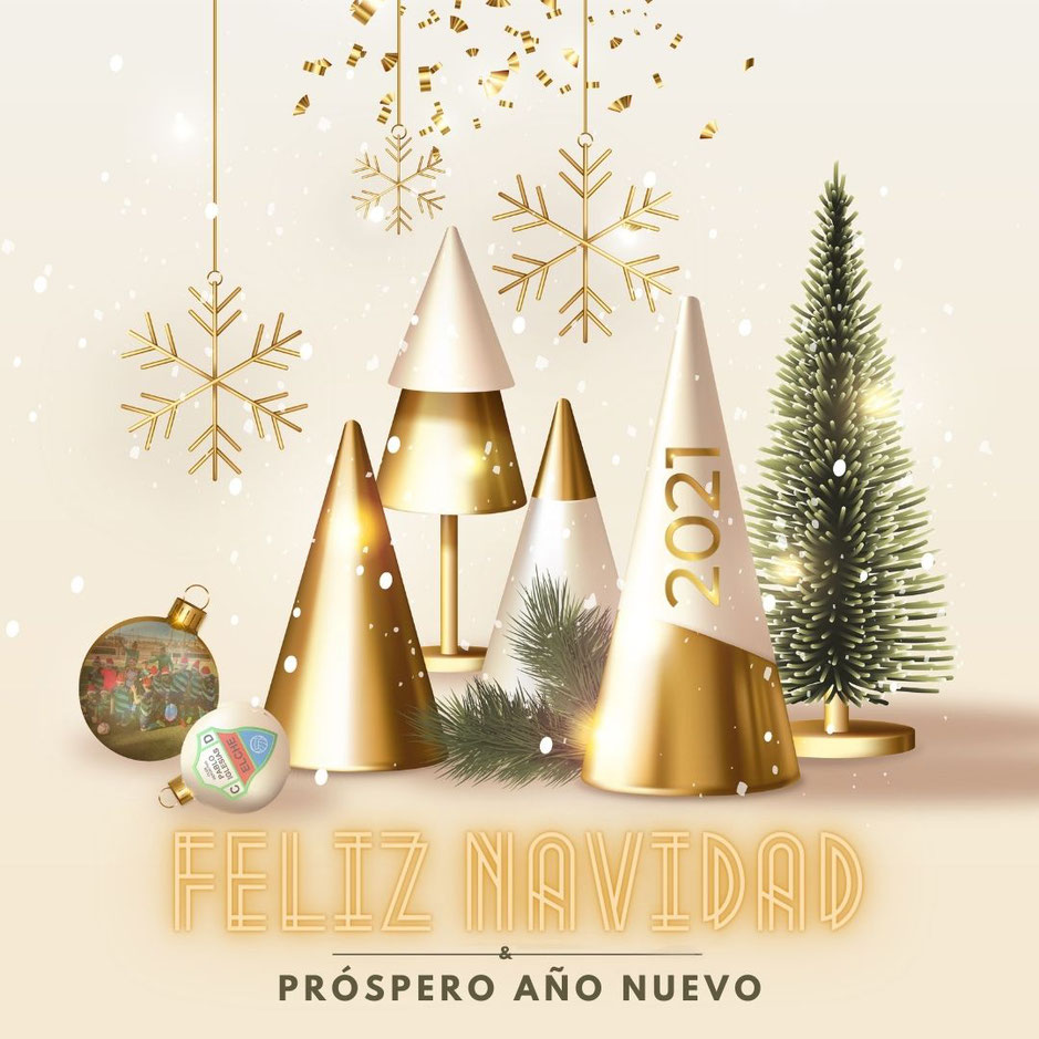 ¡El Club Deportivo Pablo Iglesias os desea unas felices fiestas!