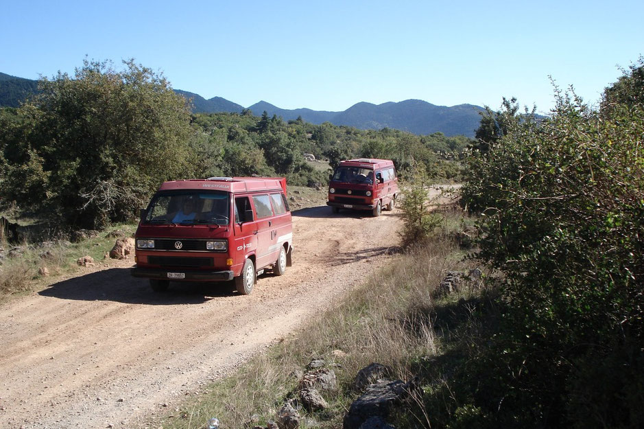 Offroadtour in Griechenland gefolgt vom Artgenossen