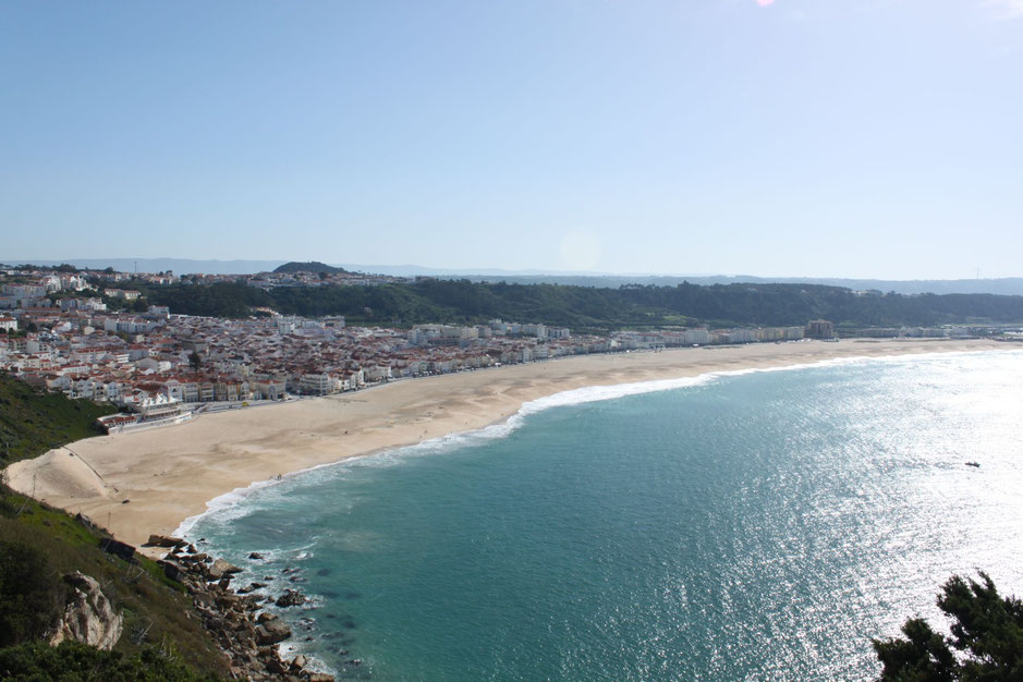 Beach of Nazare, Portugal