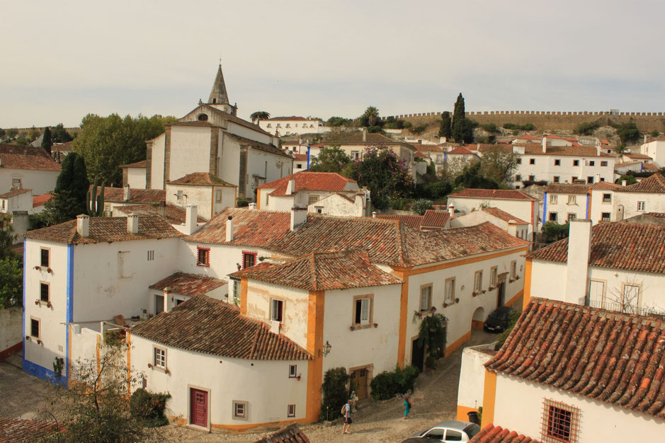 Obidos, Portugal, medieval town