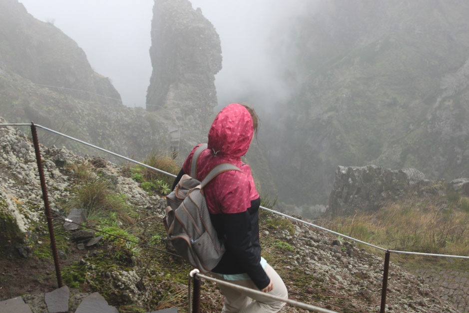 hiking to Pico Ruivo on Madeira