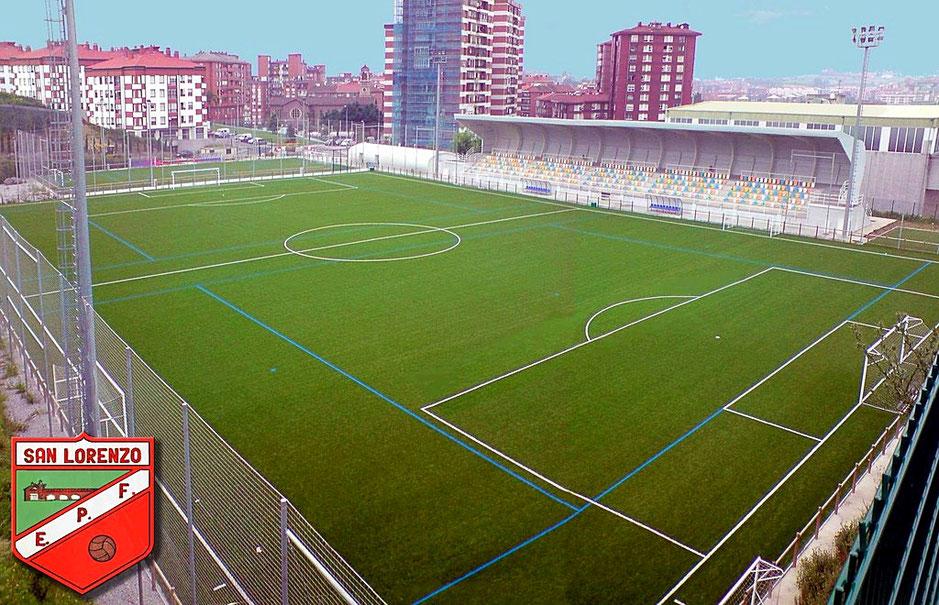 Campo de San Lorenzo en Astrabudua, lugar donde se desarrollará el play-off de ascenso a Liga Vasca.