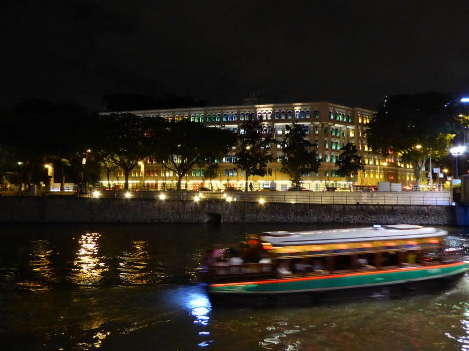 Singapur River in der Nähe des Clarke Quay
