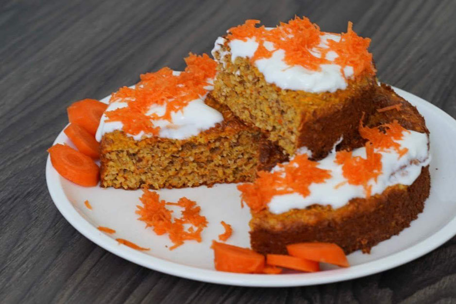 Hafer-Möhrenkuchen | fruchtig, saftig & gesund