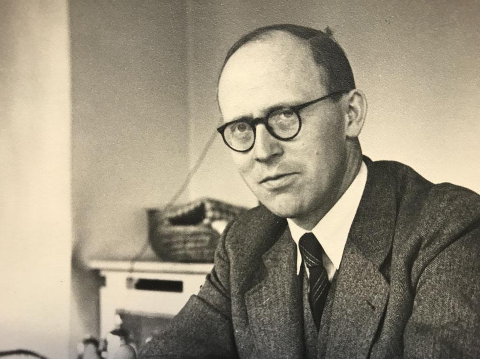 Historisches Portrait von Siegfried Maiweg.