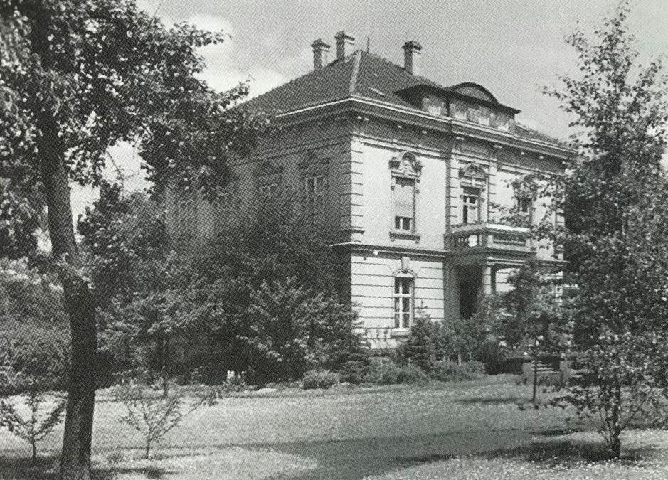 Historische Aufnahme  Haus Rünthe.