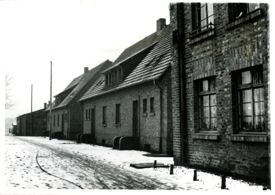 Am Schacht III in Rünthe Anfang der 1950er Jahre.