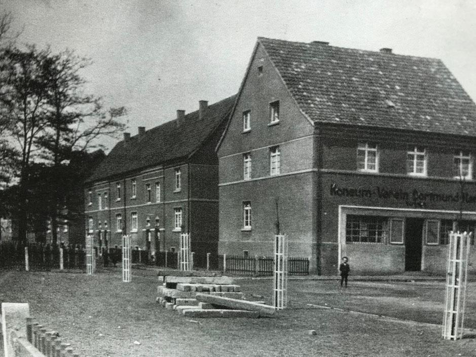 Rünthe-West im Jahre 1926.