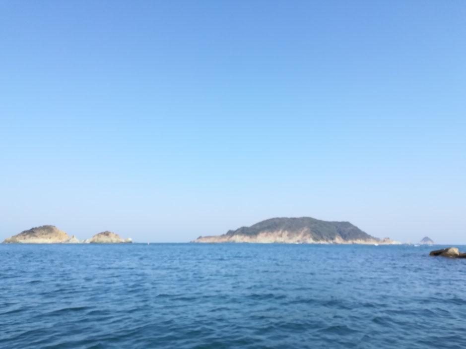 海上から見た大築海