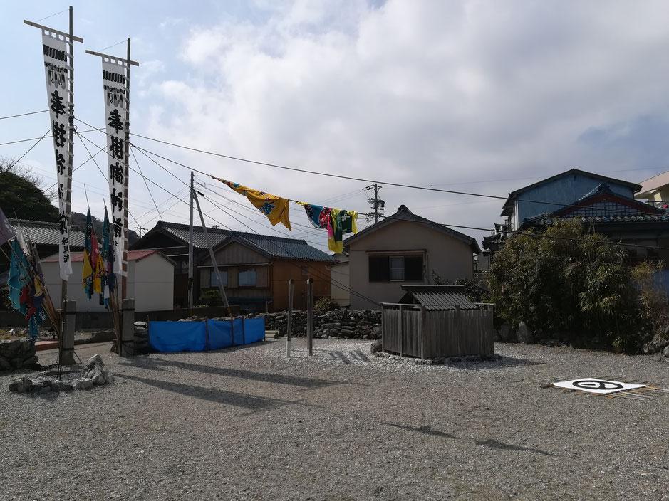 和具の八幡神社、素朴でしょう?