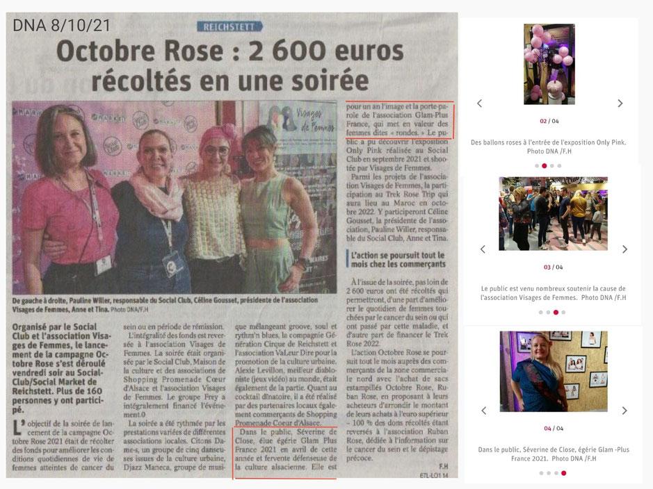 Lancement d'Octobre Rose
