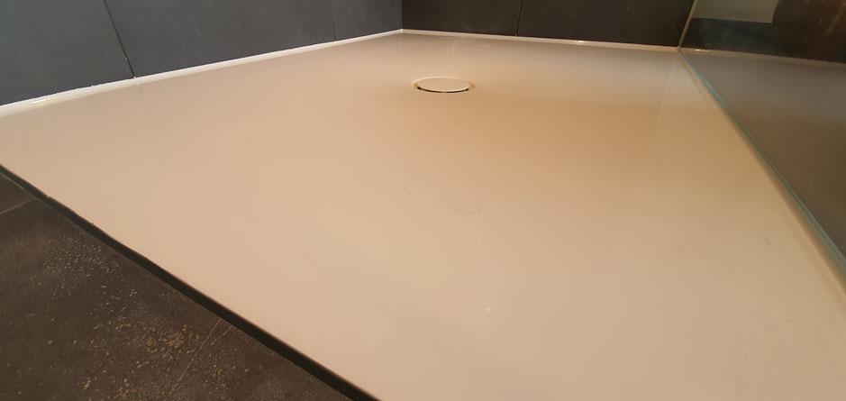 Silikonfuge Fugenservice Dusche