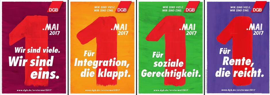 DGB-Motto zum Ersten Mai 2017