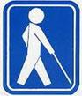 盲人のための 国際シンボルマーク