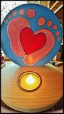 Houten Sfeerlicht Liefde uniek, theelichthouder speciaal, bijzondere sfeerlichten, uitgevallen theelichthouders