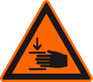 Sicherheitshinweis Quetschungen zum sicheren Umgang mit Easy Mind Produkten