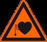 Sicherheitshinweis Herzschrittmacher zum sicheren Umgang mit Easy Mind Produkten
