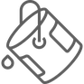 Icon Farbeimer