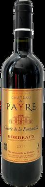 Cuvée de Bordeaux rouge, Château du Payre rouge