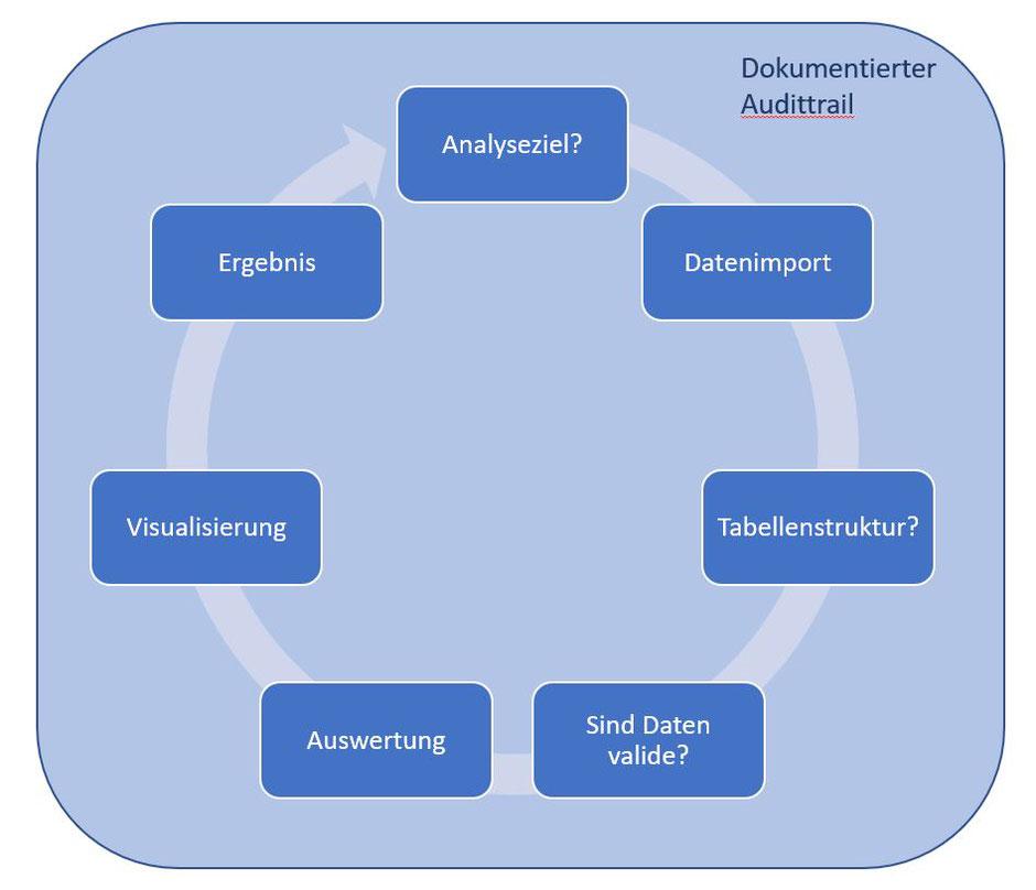 Das Datenanalyse - Framework in der Betrugsermittlung