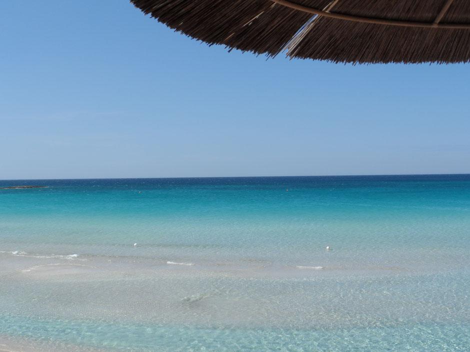 """Porto Cesareo, spiaggia privata de """"Le Dune Suite Hotel"""""""