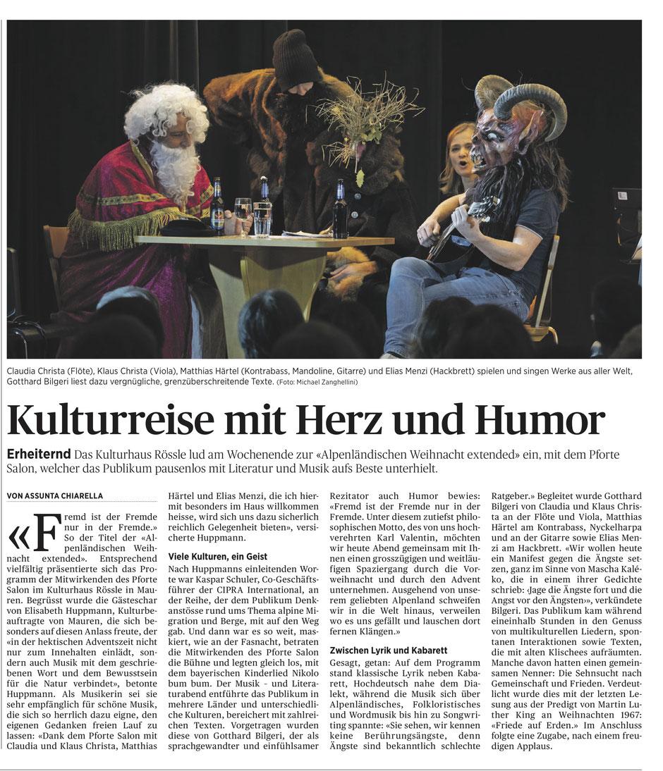 aus dem Liechtensteiner Volksblatt |16.12.2019