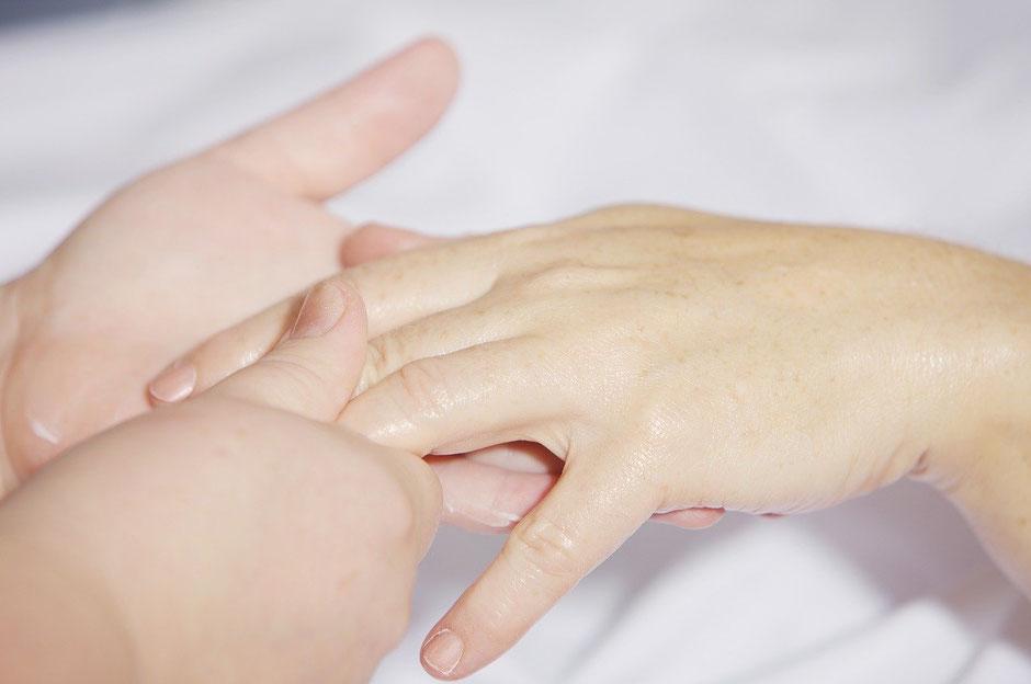 Massage für die Hände Aschaffenburg