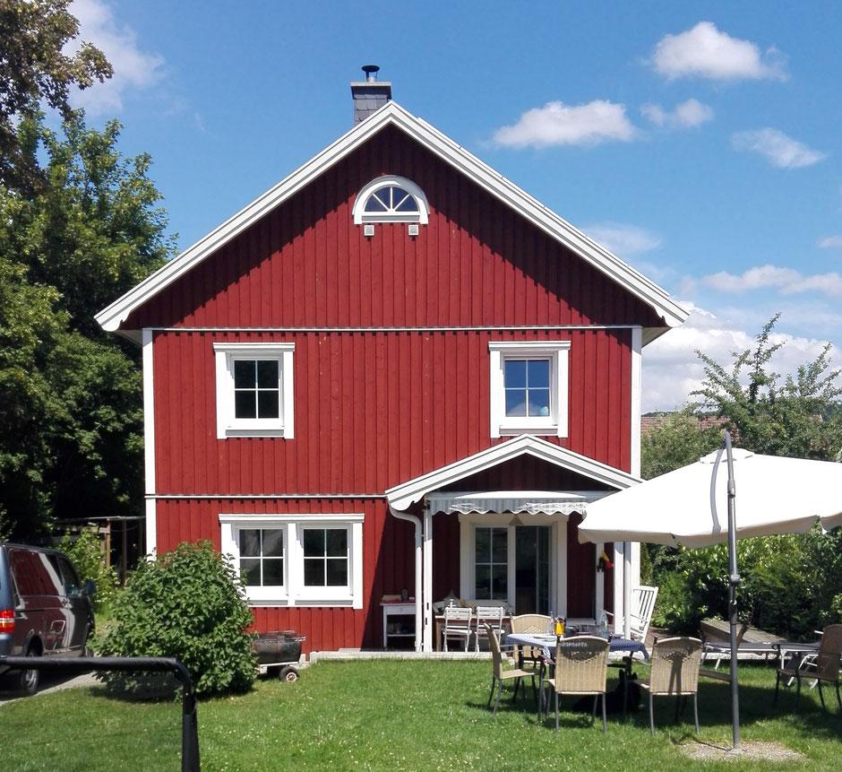Referenz Holzhaus Schwedenhaus Nordkap 150